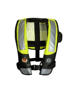 Mustang MD3153 T3 HIT Inflatable PFD (Auto Hydrostatic) - w/ Back Flap & ANSI Reflective Tape
