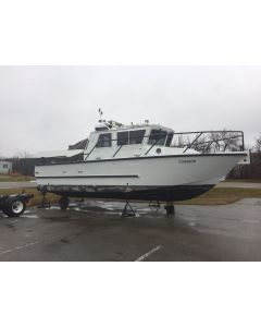 SOLD! Used 2003 Hike Metal Cab Boat
