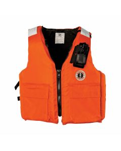 Mustang MV3119RP Two-Pocket Flotation Vest with Radio Pocket